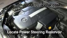 2006 Mercedes-Benz CLS500 5.0L V8 Power Steering Fluid