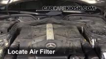 2006 Mercedes-Benz E500 5.0L V8 Air Filter (Engine)