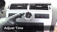 2006 Mercury Milan Premier 3.0L V6 Clock