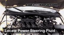 2006 Mercury Milan Premier 3.0L V6 Power Steering Fluid