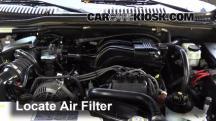 2006 Mercury Mountaineer Convenience 4.0L V6 Filtro de aire (motor)