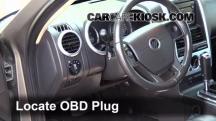 2006 Mercury Mountaineer Convenience 4.0L V6 Compruebe la luz del motor