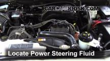 2006 Mercury Mountaineer Convenience 4.0L V6 Power Steering Fluid