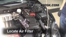 2006 Mitsubishi Eclipse GT 3.8L V6 Filtro de aire (motor)