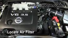 2006 Nissan Altima SE 3.5L V6 Air Filter (Engine)