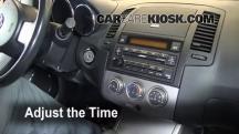 2006 Nissan Altima SE 3.5L V6 Reloj