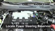 2006 Nissan Altima SE 3.5L V6 Power Steering Fluid