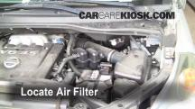 2006 Nissan Quest S 3.5L V6 Air Filter (Engine)