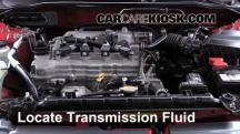 2006 Nissan Sentra S 1.8L 4 Cyl. Transmission Fluid
