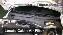 2006 Opel Corsa C Van 1.3L 4 Cyl. Turbo Diesel Air Filter (Cabin)