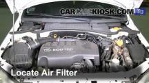 2006 Opel Corsa C Van 1.3L 4 Cyl. Turbo Diesel Air Filter (Engine)