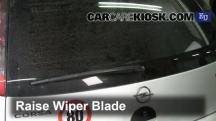 2006 Opel Corsa C Van 1.3L 4 Cyl. Turbo Diesel Windshield Wiper Blade (Rear)