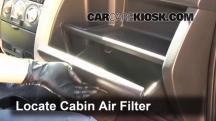 2006 Scion xB 1.5L 4 Cyl. Filtro de aire (interior)