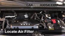 2006 Scion xB 1.5L 4 Cyl. Filtro de aire (motor)