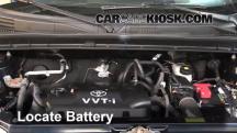 2006 Scion xB 1.5L 4 Cyl. Batería
