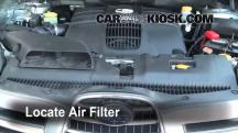 2006 Subaru B9 Tribeca 3.0L 6 Cyl. Air Filter (Engine)