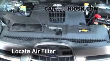 2006 Subaru B9 Tribeca 3.0L 6 Cyl. Filtro de aire (motor)