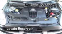 2006 Subaru B9 Tribeca 3.0L 6 Cyl. Líquido limpiaparabrisas