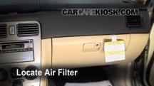 2006 Subaru Forester X 2.5L 4 Cyl. Filtro de aire (interior)