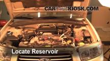 2006 Subaru Forester X 2.5L 4 Cyl. Líquido limpiaparabrisas