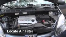 2006 Toyota Sienna LE 3.3L V6 Filtro de aire (motor)
