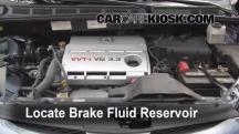 2006 Toyota Sienna LE 3.3L V6 Brake Fluid