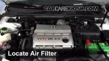 2006 Toyota Solara SLE 3.3L V6 Coupe Air Filter (Engine)