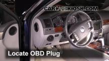 2006 Volkswagen Touareg 4.2L V8 Compruebe la luz del motor