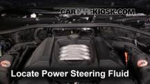 2006 Volkswagen Touareg 4.2L V8 Power Steering Fluid
