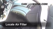 2007 Acura TL 3.2L V6 Filtro de aire (interior)