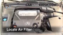 2007 Acura TL 3.2L V6 Filtro de aire (motor)