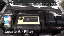 2007 Audi A3 2.0L 4 Cyl. Turbo Air Filter (Engine)