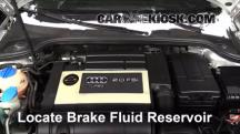 2007 Audi A3 2.0L 4 Cyl. Turbo Brake Fluid