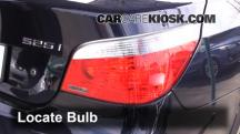 2007 BMW 525i 3.0L 6 Cyl. Luces
