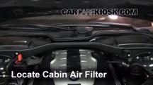 2007 BMW 750Li 4.8L V8 Filtro de aire (interior)