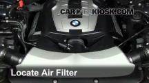 2007 BMW 750Li 4.8L V8 Filtro de aire (motor)