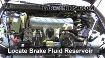 2007 Buick LaCrosse CXL 3.8L V6 Brake Fluid