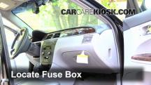 2007 Buick LaCrosse CXL 3.8L V6 Fusible (interior)