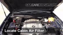 2007 Cadillac SRX 4.6L V8 Air Filter (Cabin)