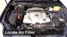 2007 Cadillac SRX 4.6L V8 Air Filter (Engine)