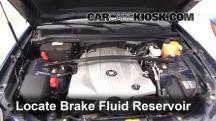 2007 Cadillac SRX 4.6L V8 Brake Fluid