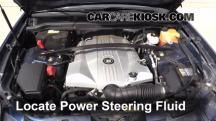 2007 Cadillac SRX 4.6L V8 Power Steering Fluid