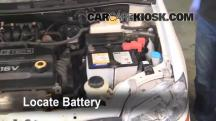 2007 Chevrolet Aveo5 Special Value 1.6L 4 Cyl. Battery