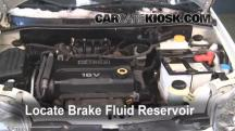 2007 Chevrolet Aveo5 Special Value 1.6L 4 Cyl. Brake Fluid