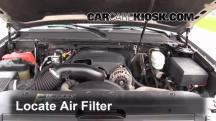2007 Chevrolet Suburban 2500 LT 6.0L V8 Air Filter (Engine)
