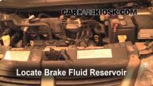 2007 Dodge Grand Caravan SXT 3.8L V6 Brake Fluid