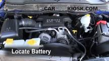 2007 Dodge Ram 1500 Laramie 5.7L V8 Extended Crew Cab Pickup Batería