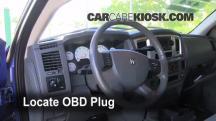 2007 Dodge Ram 1500 Laramie 5.7L V8 Extended Crew Cab Pickup Compruebe la luz del motor