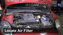 2007 Fiat Grande Punto Active 1.2L 4 Cyl. Air Filter (Engine)