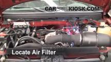 2007 Ford F-150 XL 4.2L V6 Standard Cab Pickup (2 Door) Filtro de aire (motor)